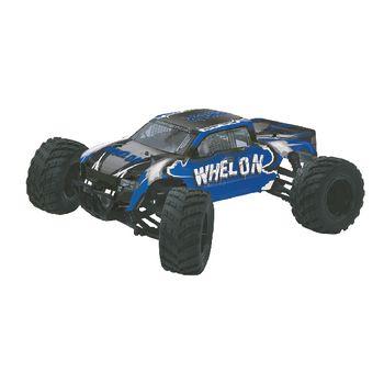 JAM-053355 R/c 4wd whelon rtr / 4wd / met kogellager / waterbestendig 2.4 ghz control 1:12 blauw