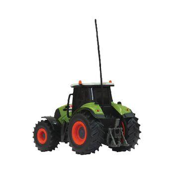 JAM-403702 R/c-tractor claas axion 850 met aanhanger rtr 1:28 groen Product foto