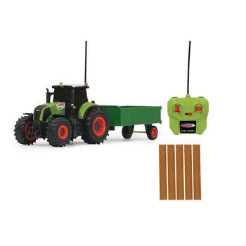 JAM-403702 R/c-tractor claas axion 850 met aanhanger rtr 1:28 groen Inhoud verpakking foto