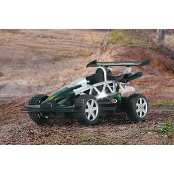 JAM-403781 R/c-buggy explorer rtr / met verlichting 1:14 zwart In gebruik foto