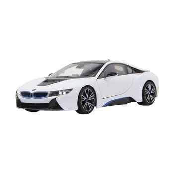 JAM-404571 R/c-auto bmw i8 rtr / met verlichting 1:14 wit