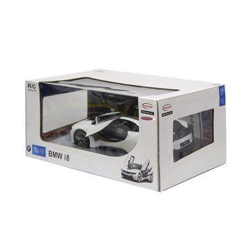 JAM-404571 R/c-auto bmw i8 rtr / met verlichting 1:14 wit Verpakking foto