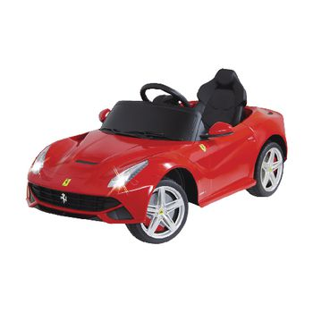 JAM-404765 R/c-rideon car ferrari f12 berlinetta 2+6-kanaals handgeschakeld / geluid / met verlichting 1:4 rood