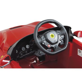 JAM-404765 R/c-rideon car ferrari f12 berlinetta 2+6-kanaals handgeschakeld / geluid / met verlichting 1:4 rood In gebruik foto