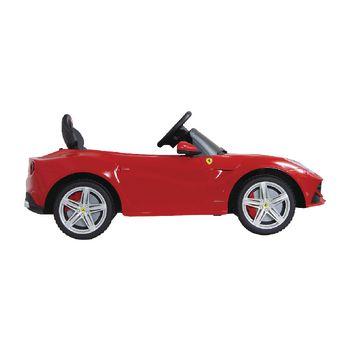 JAM-404765 R/c-rideon car ferrari f12 berlinetta 2+6-kanaals handgeschakeld / geluid / met verlichting 1:4 rood Product foto