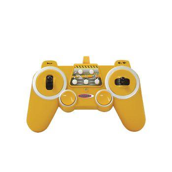 JAM-404920 R/c-graafmachine j-matic 4+3-kanaals rtr / geluid / met verlichting 2.4 ghz control 1:27 geel Product foto