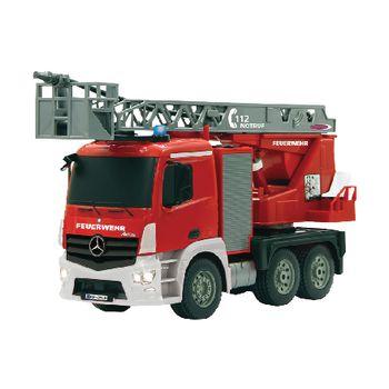 JAM-404960 R/c-brandweerauto mercedes antos 4+6-kanaals rtr / geluid / met verlichting / 4wd 2.4 ghz control 1: