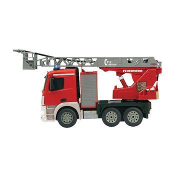 JAM-404960 R/c-brandweerauto mercedes antos 4+6-kanaals rtr / geluid / met verlichting / 4wd 2.4 ghz control 1: Product foto