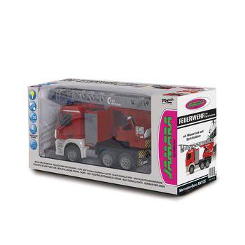 JAM-404960 R/c-brandweerauto mercedes antos 4+6-kanaals rtr / geluid / met verlichting / 4wd 2.4 ghz control 1: Verpakking foto