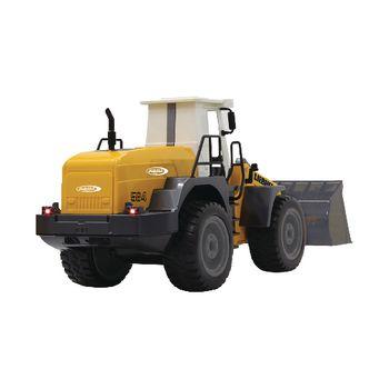 JAM-405007 R/c-wiellader liebherr 3+4-kanaals rtr / geluid / met verlichting / 4wd 2.4 ghz control 1:20 geel Product foto