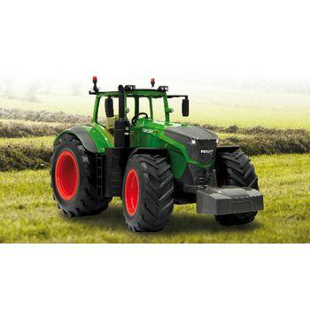 JAM-405035 R/c-tractor 2.4 ghz control 1:16 groen/zwart In gebruik foto