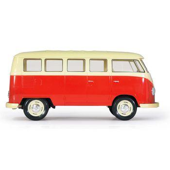 JAM-405119 R/c klassieke bus vw t1 1:16 rood Product foto