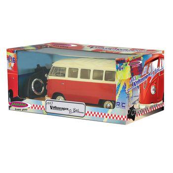 JAM-405119 R/c klassieke bus vw t1 1:16 rood Verpakking foto