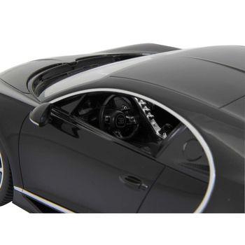 JAM-405134 R/c-auto bugatti chiron 1:14 zwart In gebruik foto