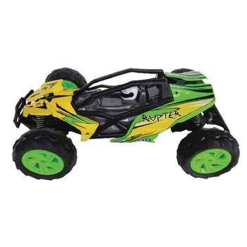 JAM-410009 R/c-buggy rupter rtr 2.4 ghz control 1:14 geel