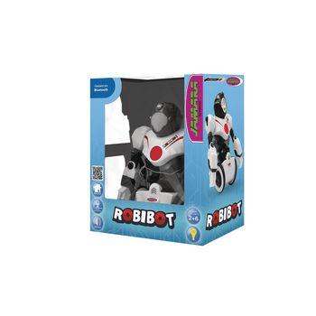 JAM-410020 R/c-robot robibot 2+6-kanaals rtr / geluidsopname / met verlichting wit Verpakking foto