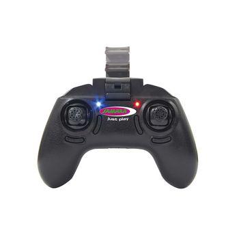 JAM-422029 R/c-drone 120° groothoek hoogte 4+8 kanaals 2.4 ghz control wit In gebruik foto