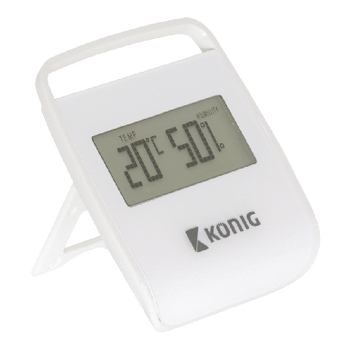 KN-DTH10 Thermometer/hygrometer binnen wit Product foto