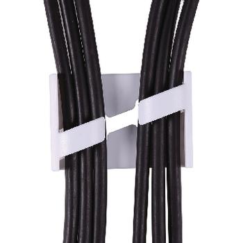 KNM-CC75B Kabelgoot 75 x 6 cm zwart In gebruik foto