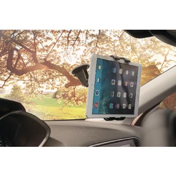 KNM-FCTM11 Tablet autohouder 360 ° draai- en kantelbaar 0.7 kg In gebruik foto