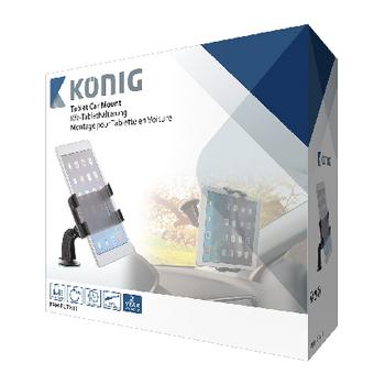 KNM-FCTM11 Tablet autohouder 360 ° draai- en kantelbaar 0.7 kg Verpakking foto
