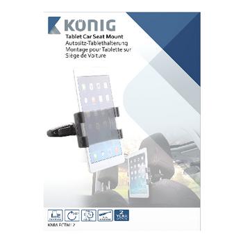 KNM-FCTM12 Tablet autohouder 360 ° draai- en kantelbaar 0.7 kg Verpakking foto