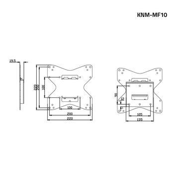 KNM-MF10 Tv muurbeugel vast 26 - 42 \