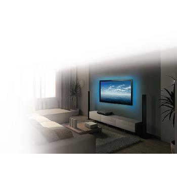 KNM-ML3RGBD Tv mood light led 96 lm 1900 mm rgb In gebruik foto