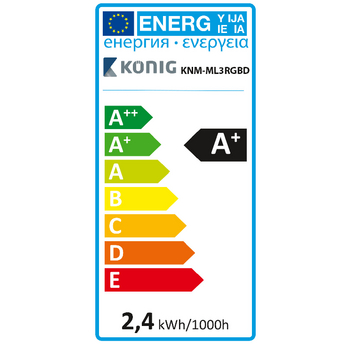 KNM-ML3RGBD Tv mood light led 96 lm 1900 mm rgb  foto