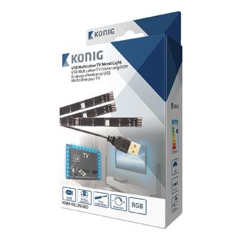 KNM-ML3RGBD Tv mood light led 96 lm 1900 mm rgb Verpakking foto