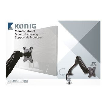 KNM-MM11 Monitor beugel draai- en kantelbaar 10 - 32 \