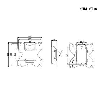 KNM-MT10 Tv muurbeugel kantelen 26 - 42 \