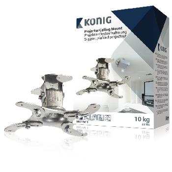 KNM-PM11 Projector plafondbeugel muurbeugel draai- en kantelbaar 10 kg