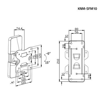 KNM-SFM10 Tv muurbeugel draai- en kantelbaar 10 - 26 \