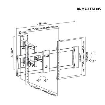 KNMA-LFM30S Tv muurbeugel draai- en kantelbaar 42 - 70 \