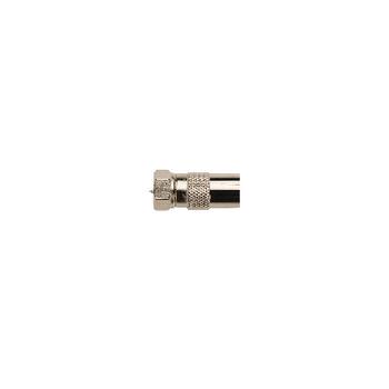 KNS41952M Coax-adapter f f-male - coax female (iec) zilver Product foto