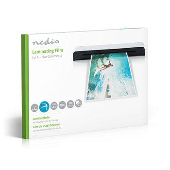 LAMIA3AT100 Lamineerhoes | a3 | dikte: 100 um | verpakt per: 100 stuks | kunststof | transparant Verpakking foto