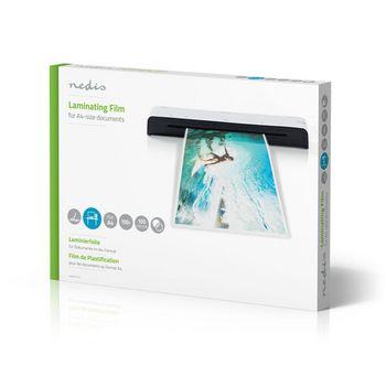 LAMIA4AT100 Lamineerhoes   a4   dikte: 100 um   verpakt per: 100 stuks   kunststof   transparant Verpakking foto