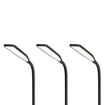 LTLGQ3M1BK Led-tafellamp met touch-control | draadloze qi oplader | 1,0 a | 5 w | zwart Product foto