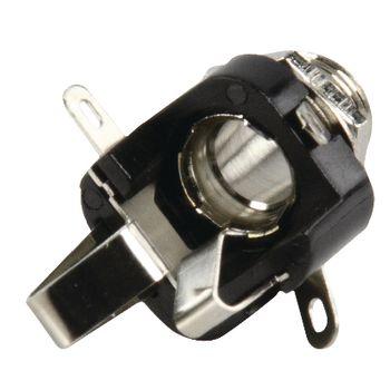 LUM-KLBS3 Stereoconnector 6.35 mm female zwart