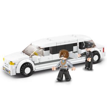 M38-B0323 Bouwstenen town serie limousine