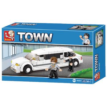 M38-B0323 Bouwstenen town serie limousine Verpakking foto