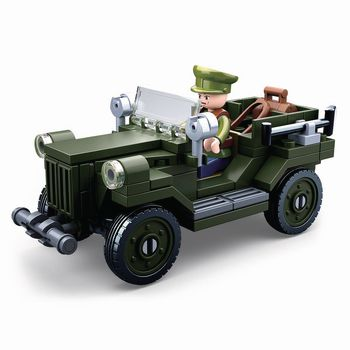 M38-B0682 Bouwstenen wwii serie gaz-67 allied light truck