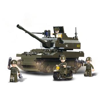 M38-B9800 Bouwstenen army serie tank