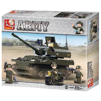M38-B9800 Bouwstenen army serie tank Verpakking foto