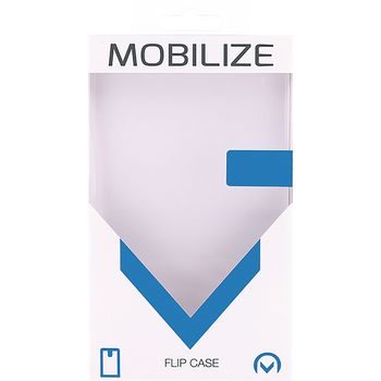MOB-21902 Smartphone premium magnet flip case apple iphone 6 plus / 6s plus zwart Verpakking foto