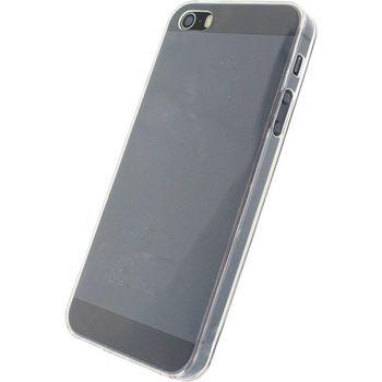 MOB-22242 Smartphone gel-case apple iphone 5 / 5s / se transparant In gebruik foto