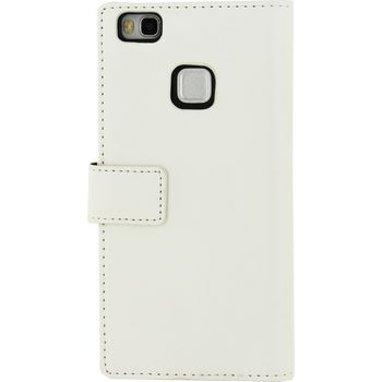 MOB-22568 Smartphone classic wallet book case huawei p9 lite wit Product foto