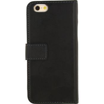 MOB-22643 Smartphone gelly wallet book case apple iphone 6 / 6s zwart Product foto