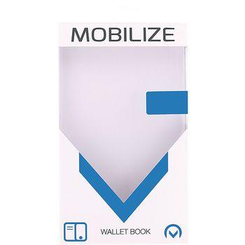 MOB-22643 Smartphone gelly wallet book case apple iphone 6 / 6s zwart Verpakking foto